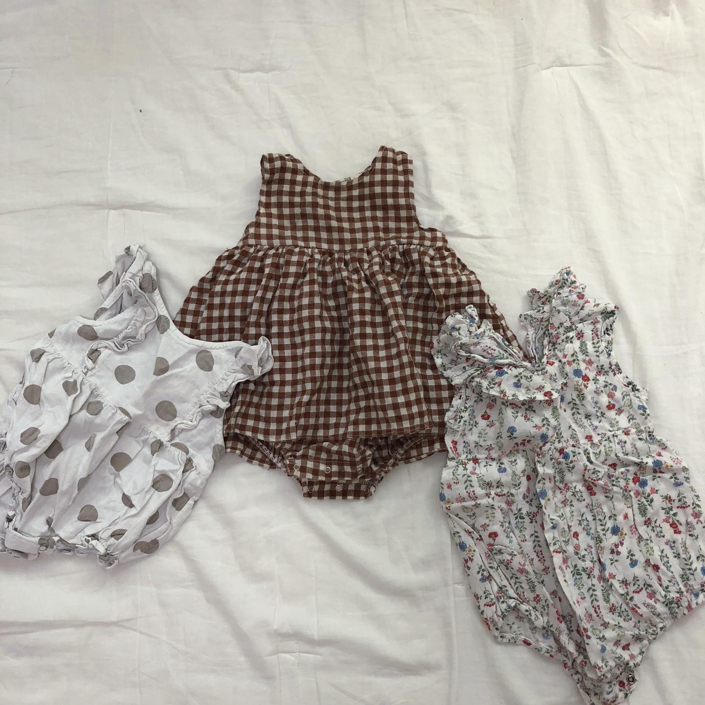 아기옷 여름옷 여자아기옷 바디슈트 아기원피스 여름바디슈트 여자아기옷 아기원피스 아기외출복 아기여름옷 돌아기
