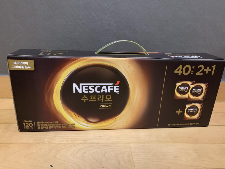 *새제품* 네스카페 수프리모 커피믹스 / 믹스커피 (선물용으로 좋아요)