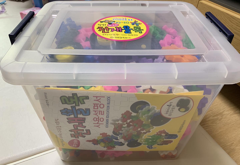 유아 장난감_사각블럭(뉴꼬마 천재블록 2호)