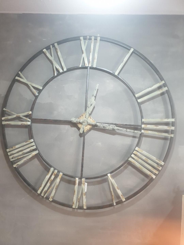 인더스트리알 철재 대형시계