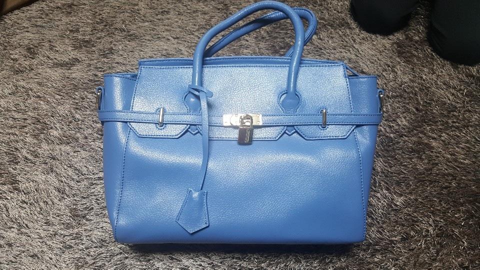 오마샤리프 블루 가방(새상품)