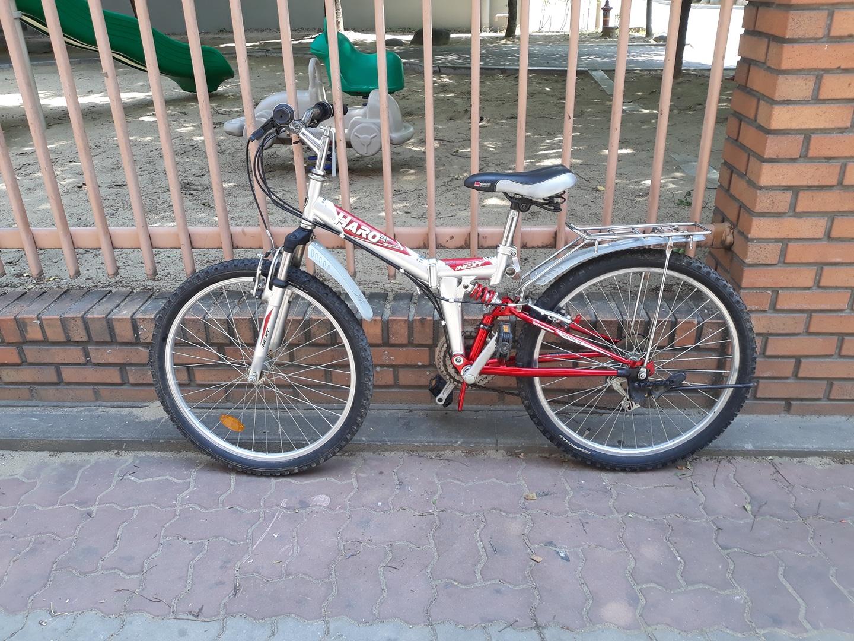 503번. 하로 24인치 접이식 자전거