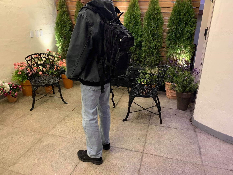 (새상품 배송비 포함) 군용가방 . 군인백팩 . 테크웨어백팩