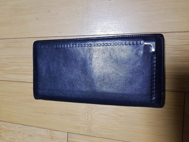 에스콰이어 검은색 장지갑