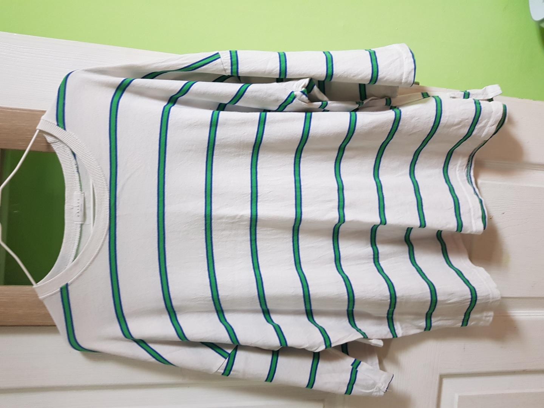 여성 줄무늬티셔츠2종