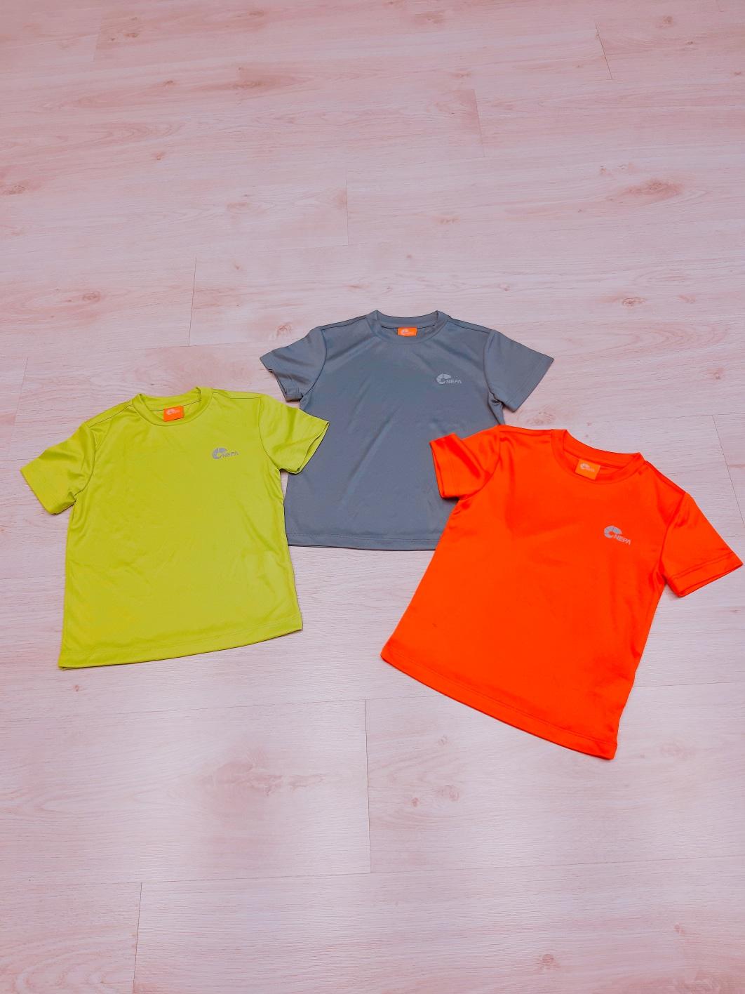 아동 네파 아쿠아 티셔츠
