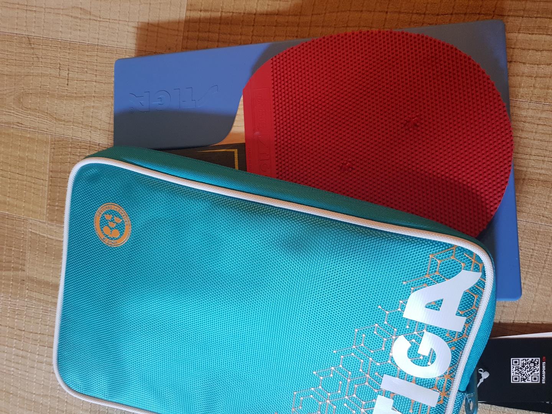 고급 stiga 탁구채 가방(더블 지퍼) 포장도 안뜯은 신품