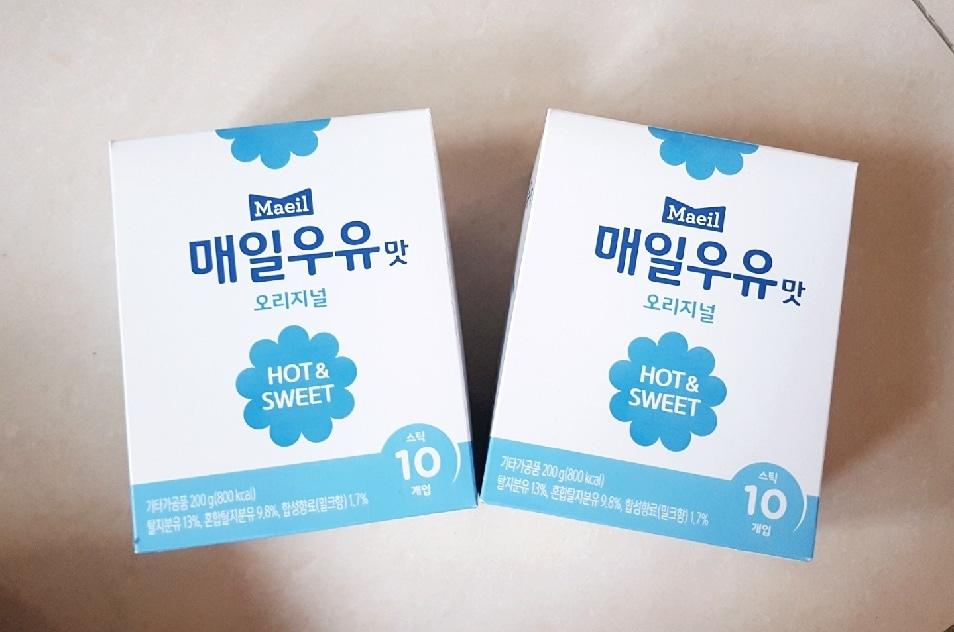 매일우유 스틱우유 20개