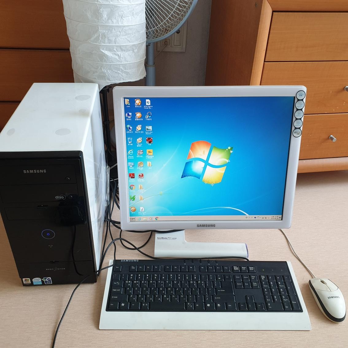 컴퓨터,모니터 세트팝니다.