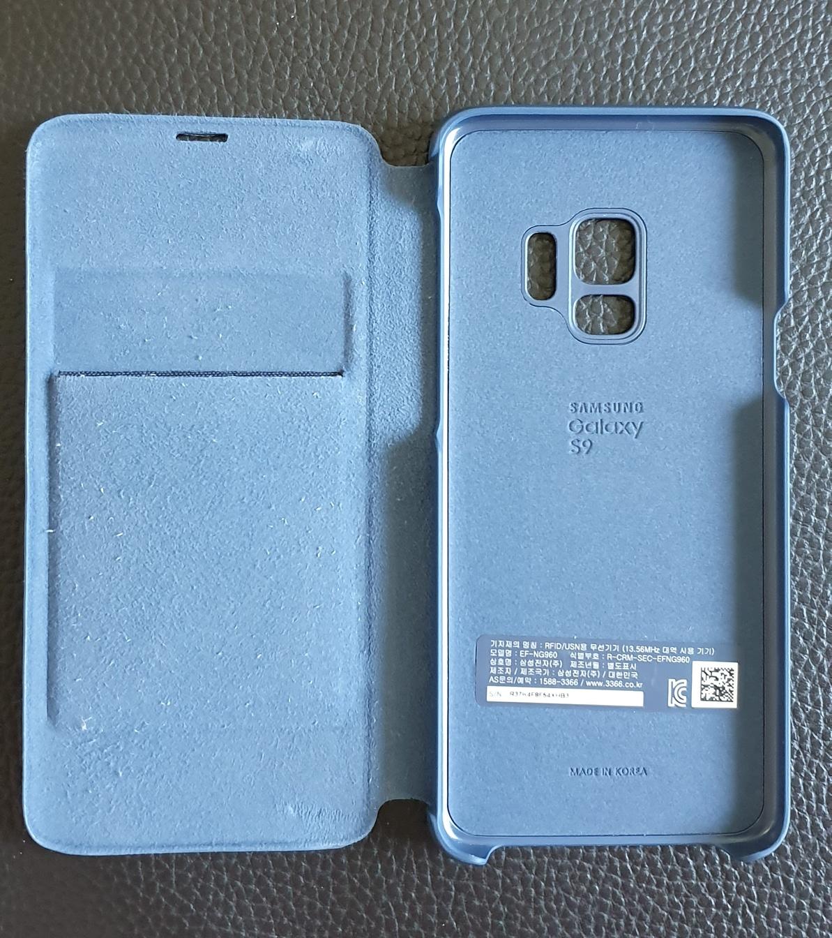 갤럭시 S9  LED 케이스 정품