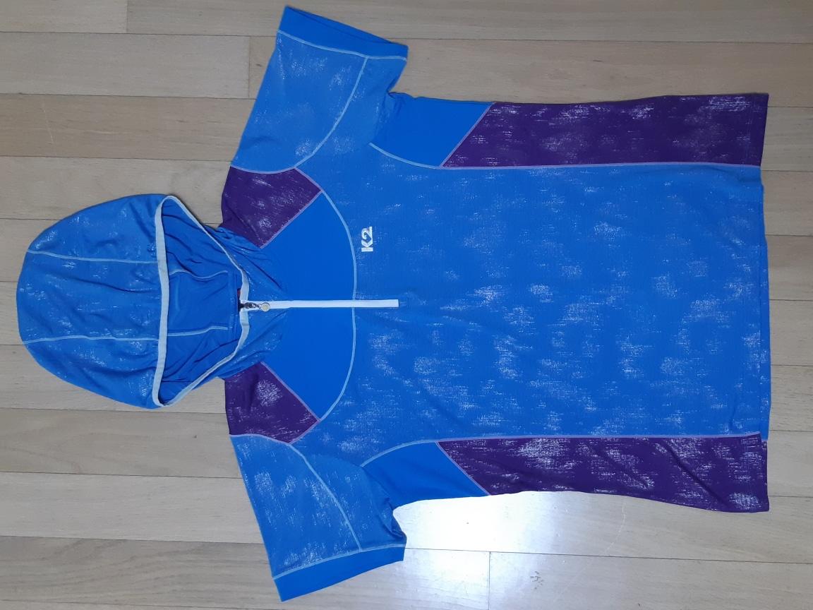 K2  후드 반팔티셔츠