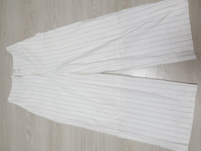 [옷장정리] 하이웨스트 흰색 슬랙스