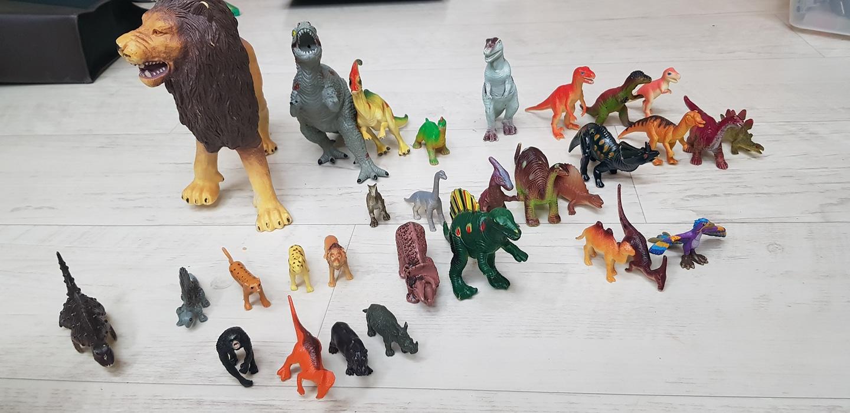 공룡및 동물 일괄판매
