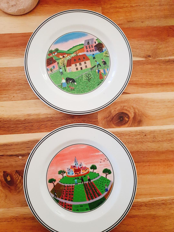 독일 빌레로이앤보흐 접시 새상품 정품
