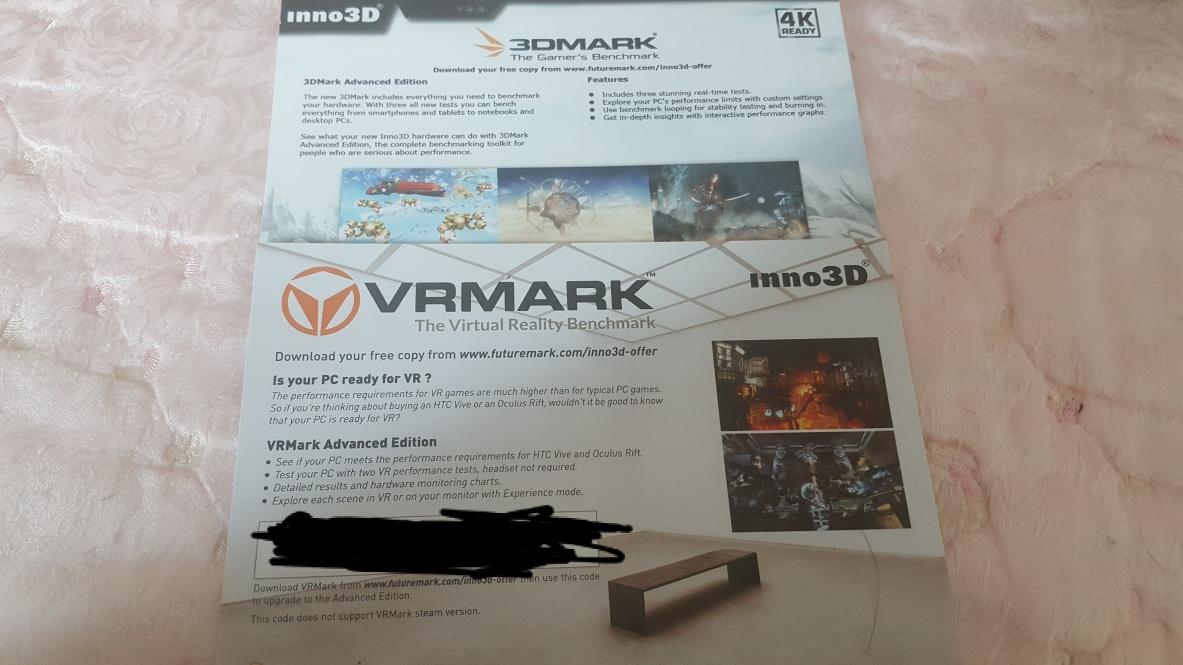 3DMARK/VRMARK 쿠폰 팝니다.