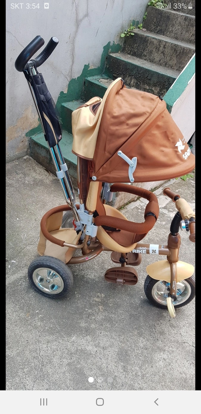 샘트라이크유아자전거/아동자전거/유모차형자전거