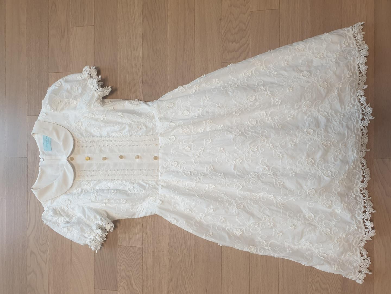 흰색레이스 원피스 54