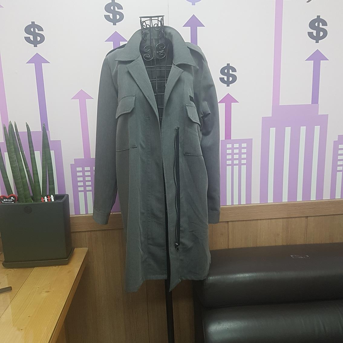 여성롱상의 자켓새옷66