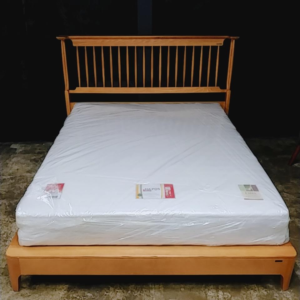 에몬스 원목 평상형 퀸침대 프레임(배송/설치포함)