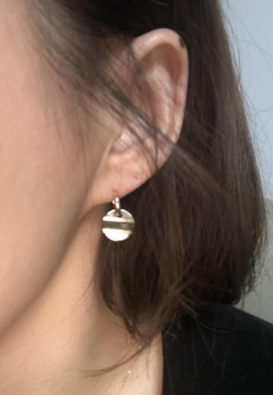14k 엘로우 귀걸이
