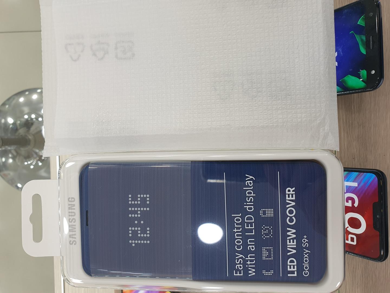 갤럭시S9+(플러스) 정품LED 뷰어케이스(미개봉)