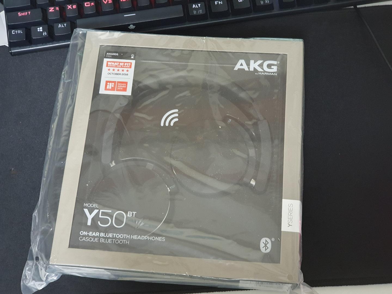 AKG Y50 BT 미개봉헤드셋