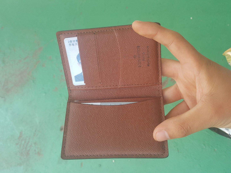 루이비통 카드지갑