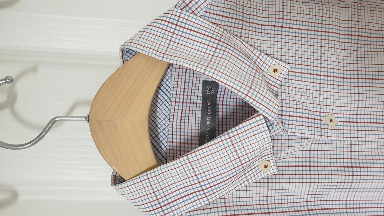 반팔남방 셔츠 100싸이즈