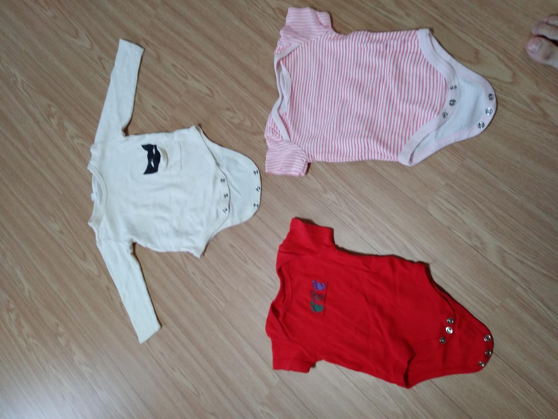 아기옷일괄 사이즈70 아기옷 남아옷 여아옷 우주복 아가복 아가옷