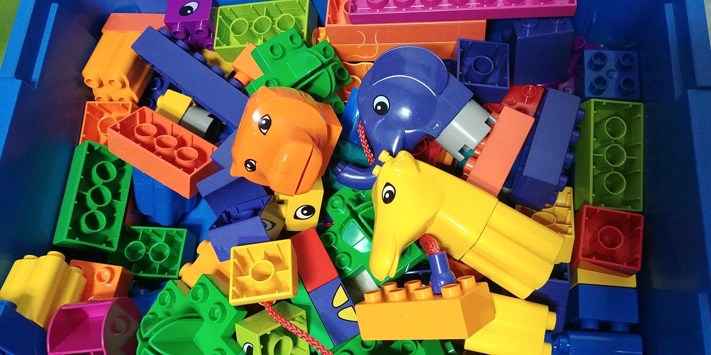 레고 유아용 동물