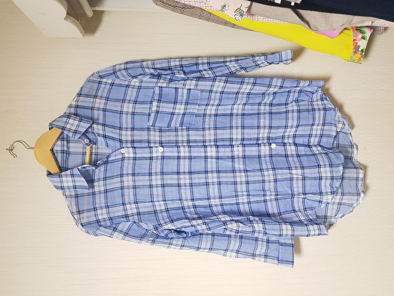 블루셔츠(새옷)