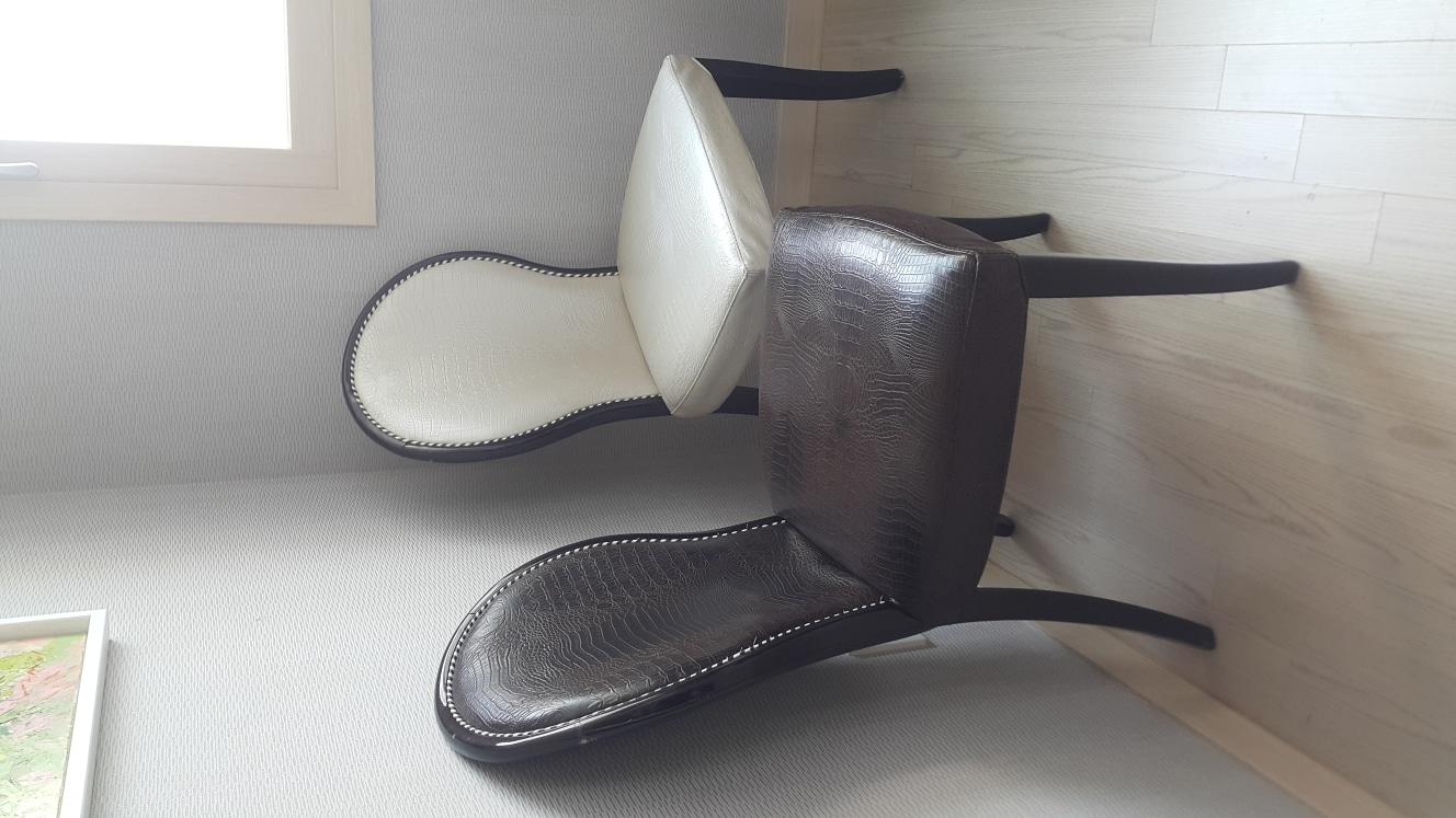 의자 3개