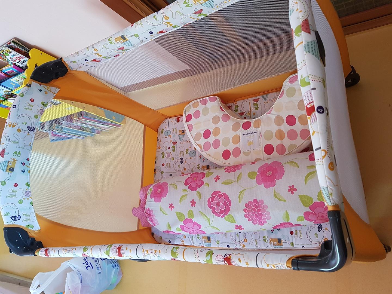 아기침대,수유패드,침대패드 다해서 1만원