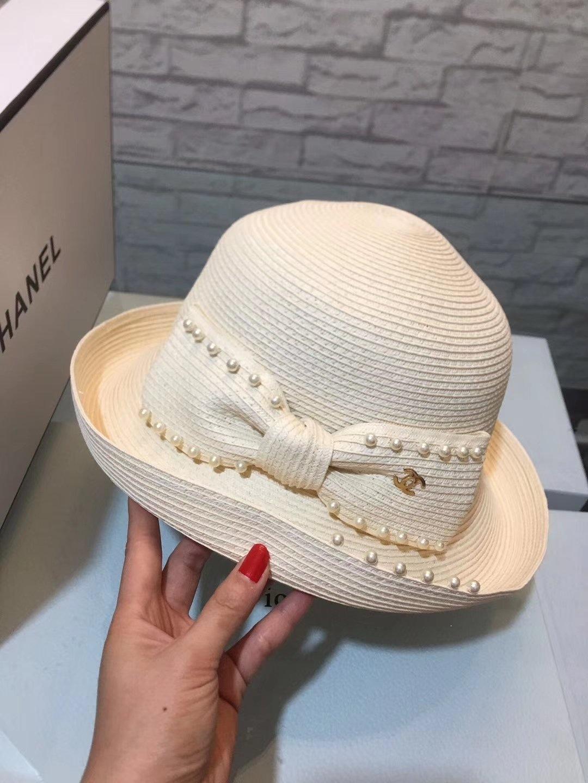 샤넬진주 모자
