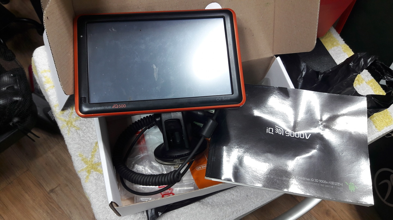 네비게이션 파인드라이브IQ500