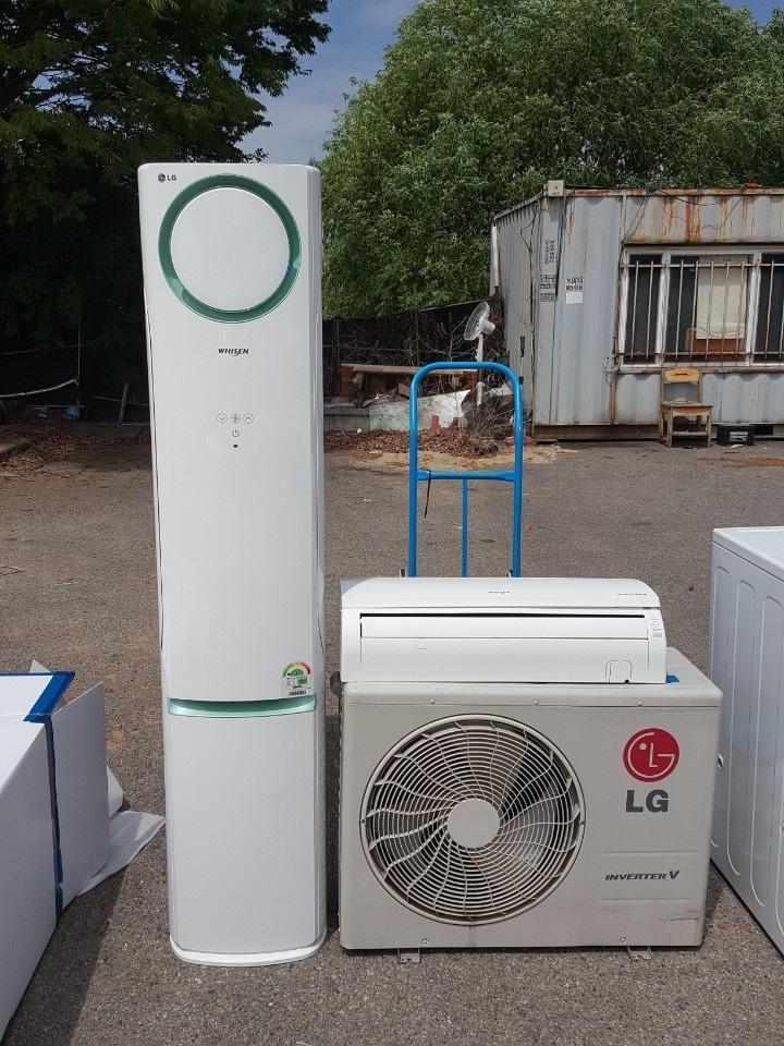 LG디오스 양문냉장고 손연재 에어컨 투인원 일괄판매