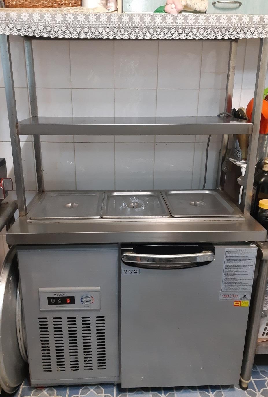 식당용 반찬함 냉장고