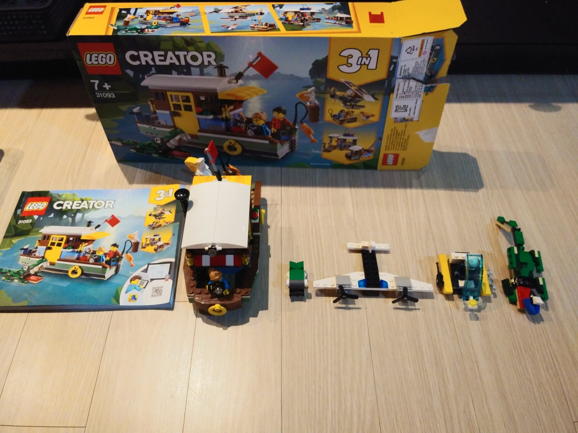 레고 31093