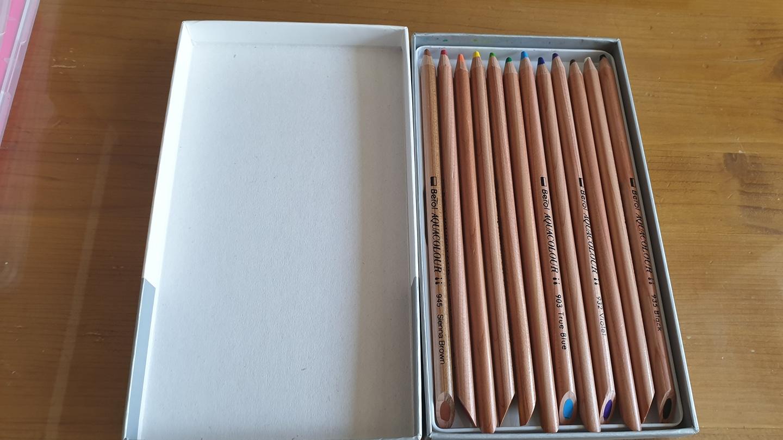 베롤 수채 색연필12색