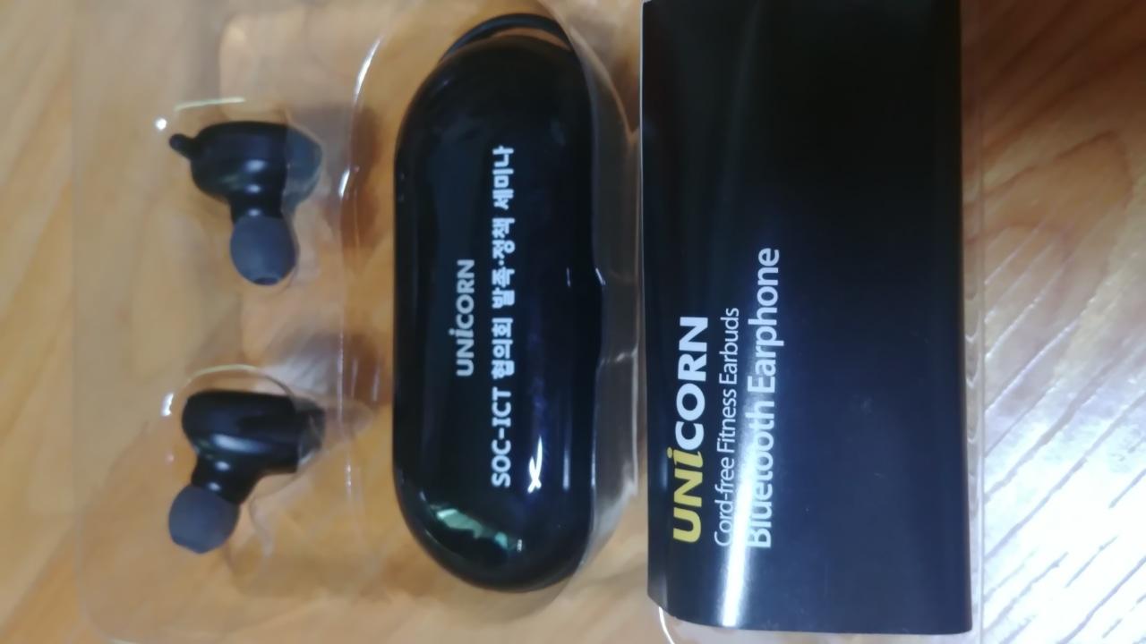 무선 이어폰(유니콘블루투스이어폰)