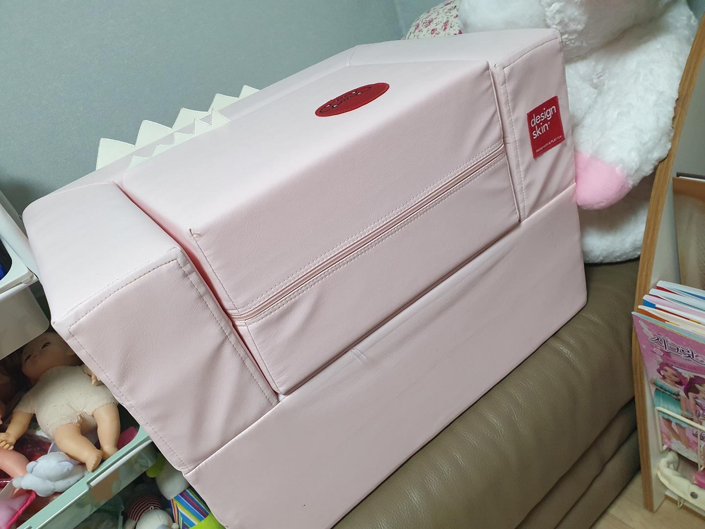 (가격내림)디자인스킨 케이크 유아쇼파 핑크