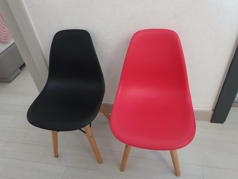유아의자2개(에펠의자)