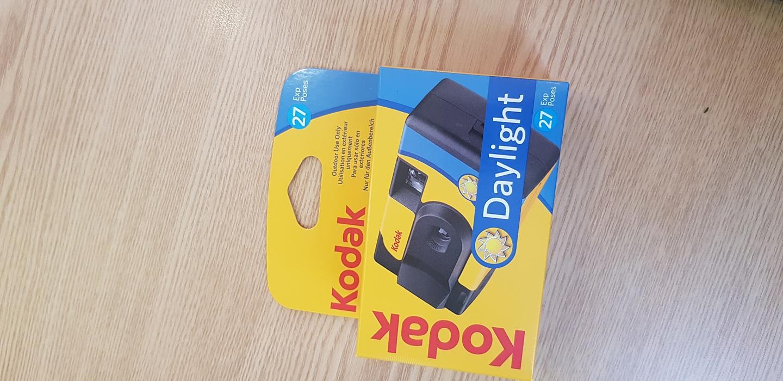 코닥 데이라이트 일회용카메라