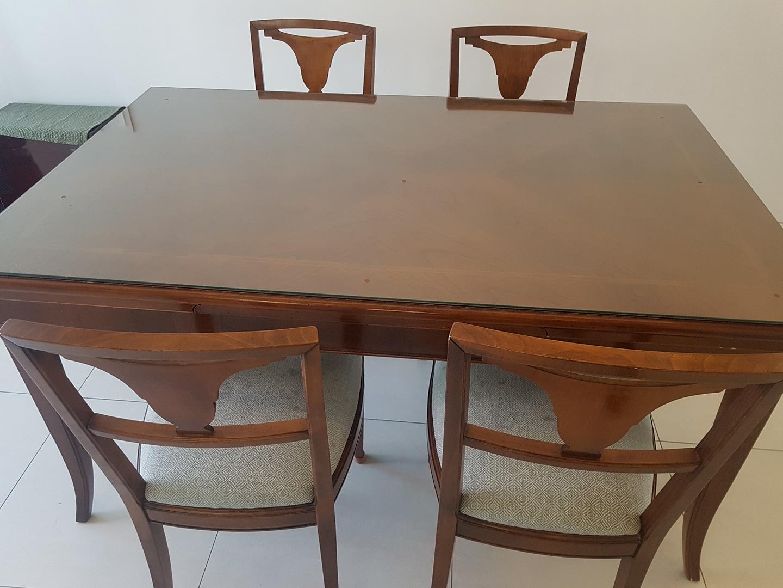 식탁 & 식탁의자 4개
