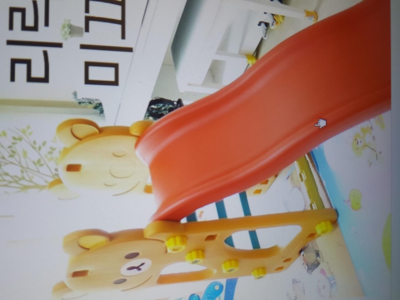 중고 유아리락쿠마대형미끄럼틀