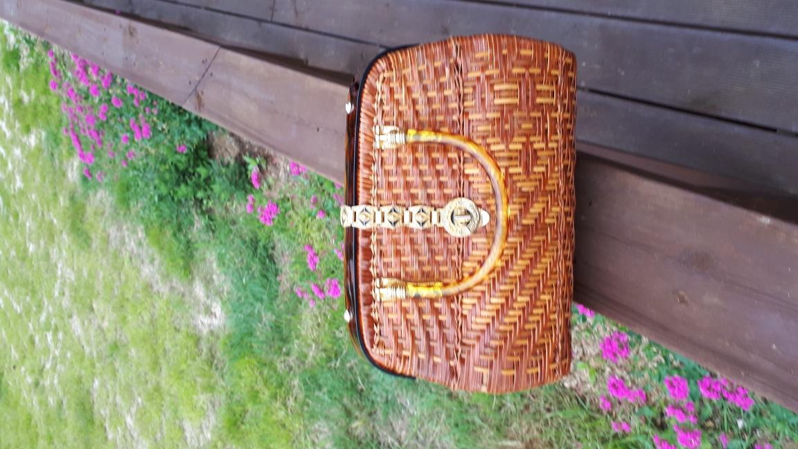 (무료배송)라탄가방 등나무가방 라틴바구니인테리어
