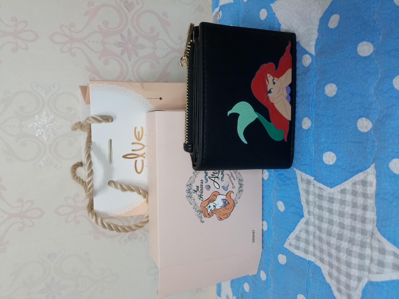 클루,클루반지갑,디즈니지갑,지갑,반지갑