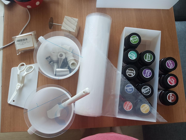 떡케이크 만들기 도구 (천연색소, 짤주머니등)
