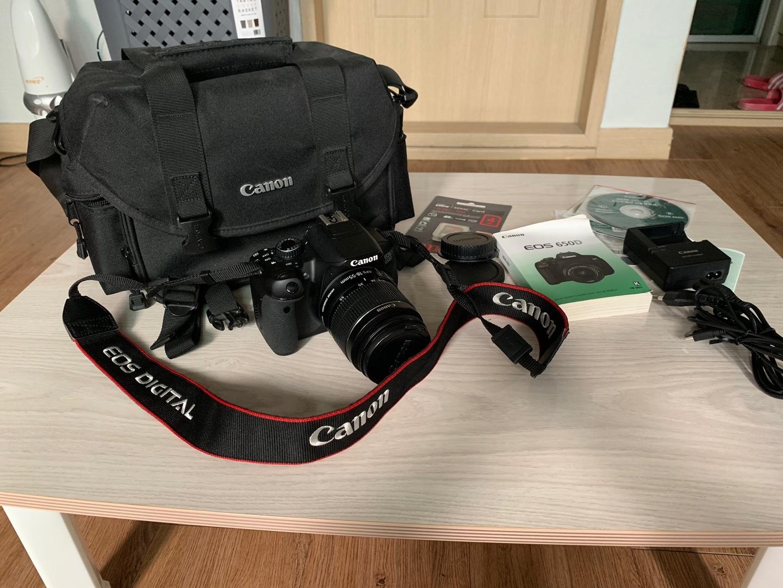 (정품)카메라 캐논 풀 옵션 DSLR EOS650d 18-55mm