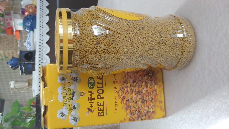 2019년  국산햇벌화분 1kg 지리산자연분 꿀화분